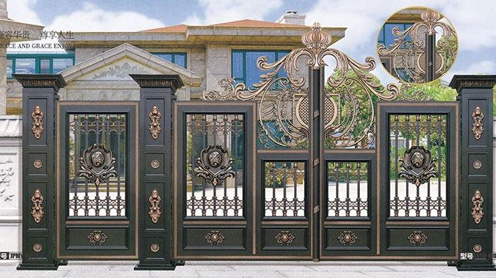 鋁藝庭院大門的幾種優質特點